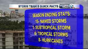 News video: Hurricane season ends with 15 named storms