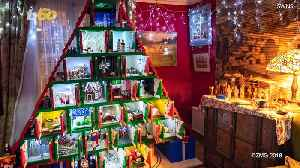 Stunning Advent Calendar Made from 450,000 LEGO Bricks Is Eight Feet of Christmas Cheer [Video]