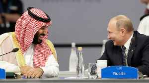 News video: Putin Enthusiastically High-Fived The Saudi Crown Prince At G20 Summit