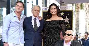 Catherine Zeta-Jones Says Kirk Douglas Was 'Adamant' on Being at Son Michael's Hollywood Star Ceremony [Video]