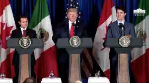 US, Mexico, Canada Strike a New Trade Deal [Video]