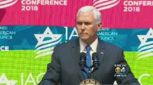 Pence Brings Down The House At Convention Of The Israeli-American Council [Video]