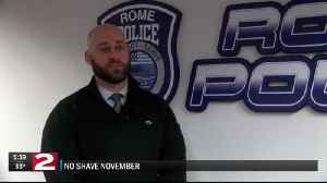 Rome PD will be clean-shaven next week after successful No-Shave November [Video]