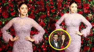 Deepika - Ranveer Reception: Anuskha Sharma arrives for party but Virat Kohli is Missing | FilmiBeat [Video]
