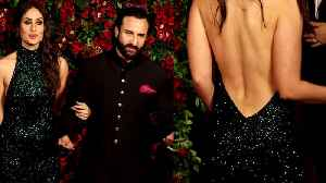 Deepika - Ranveer Reception: Watch Kareena Kapoor's HOTTEST look for DeepVeer's Party | FilmiBeat [Video]