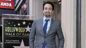 Lin-Manuel Miranda Receives Hollywood Star [Video]