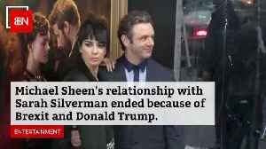 Michael Sheen And Sarah Silverman Split Over Trump And Brexit [Video]