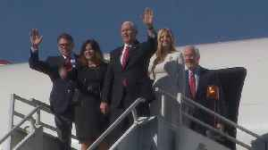 Mike Pence, Ivanka Trump arrive in Mexico for AMLO inauguration [Video]