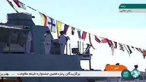 Iran launches stealth warship as U.S. tensions rise [Video]