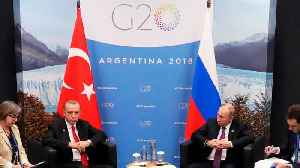 Turkey's Erdogan Tells Putin He Wants New Summit On Syria's Idlib [Video]
