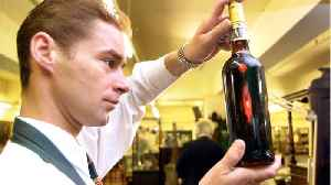 Macallan Bottle Sets Record Whiskey [Video]