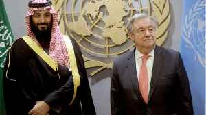Saudi Crown Prince Meets U.N. Chief On G20 Sidelines [Video]