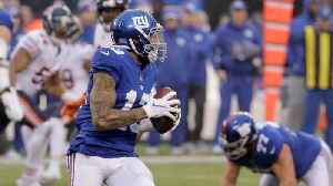 Odell Beckham Jr. Gives New York Giants Lead After Spectacular Pass [Video]