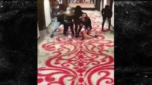 Kareem Hunt attacks a woman at a hotel in Cleveland [Video]