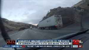 Weather changes are creating dangerous road conditions [Video]