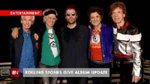 The Rolling Stones Making Their First Album In 13 Years [Video]