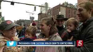 Thousands attend Christmas Parade despite controversy [Video]
