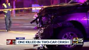 Driver killed in wreck near Southern and College avenues in Tempe [Video]