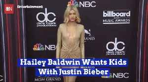 Justin Bieber And Hailey Want To Make Real Beliebers [Video]
