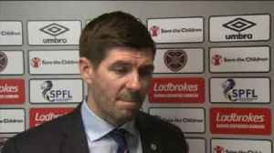 News video: 'Rangers working on red card problem'