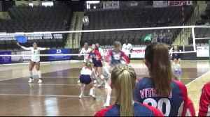 12/1/18 - Volleyball - Viterbo, 1 - Columbia College, 3 [Video]