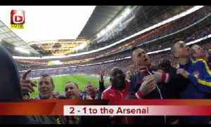 Arsenal Fans Takeover Wembley - FA Cup Semi-Final - Arsenal v Reading [Video]