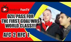 Ozil pass for the first goal was World Class!!! | FA Cup Semi Final - Arsenal 2 Reading 1 [Video]