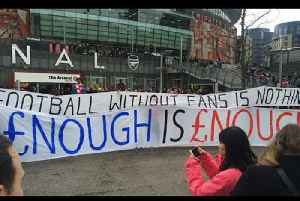 News video: Fans Protest Against Premier League Ticket Prices.