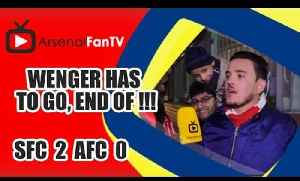 Wenger Has To Go, End Of !!! | Southampton 2 Arsenal 0 [Video]