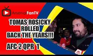 Tomas Rosicky Rolled Back The Years!!! - Arsenal 2 QPR 1 [Video]