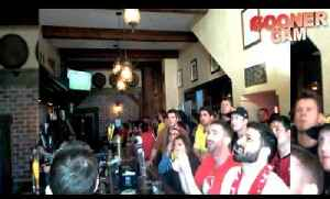 San Francisco's Bay Area Gooners Celebrate Win Over Spurs [Video]