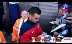 Arsenal FC 01 West Brom 01 - Mathieu Flamini and Carl Jenkinson Meet The Fans [Video]