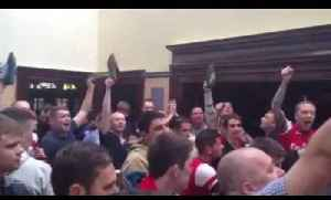 Road Trip Chants - if you hate tottenham shoes off in the pub - ArsenalFanTV.com [Video]