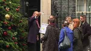 People's Vote petition delivered to Number 10 [Video]
