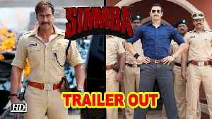 SIMMBA TRAILER OUT | Ranveer Singh & Ajay Devgn Steal The Show [Video]