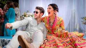 Priyanka Chopra And Nick Jonas Enter 4th Day Of Wedding Ceremonies [Video]