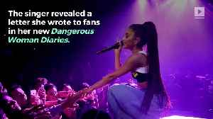 Ariana Grande Shares Letter About Manchester Bombing in Docuseries [Video]