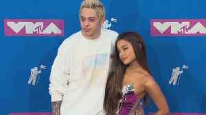 Pete Davidson Claps Back at Online Trolls After Ariana Grande's 'Thank U, Next' [Video]