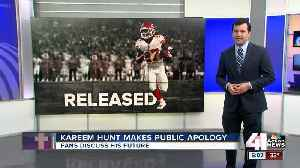 Former Chiefs RB Kareem Hunt: 'I was wrong ... I am sorry' [Video]