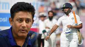 India Vs Australia 1st Test: Rishabh Pant not suitable for No. 6, says Anil Kumble | वनइंडि& [Video]