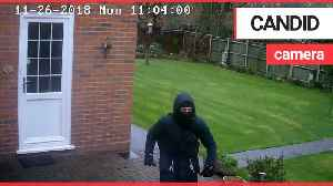 A burglary victim has slammed police for failing to collect CCTV after deleting the footage [Video]