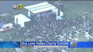 One Love Malibu Charity Concert Helps Fire Victims [Video]