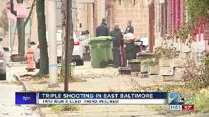Two Killed In East Baltimore Triple Shooting [Video]