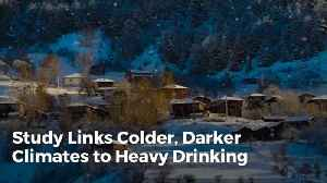 Do You Get Drunk When It's Dark And Cold [Video]