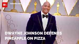 Don't Mess With Dwayne Johnson's Pineapple Pizza [Video]