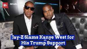 Jay Z Isn't Having Any Of Kanye West's Trump Support [Video]