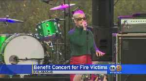 Benefit Concert For Fire Victims [Video]