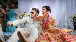 Trending: Priyanka Chopra ties the knot with Nick Jonas, Reese Witherspoon and Jennifer Garner give Ariana Grande thumbs up for  [Video]