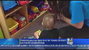 Blocks, Boxes Better Than High-Tech Toys For Young Kids, Report Says [Video]