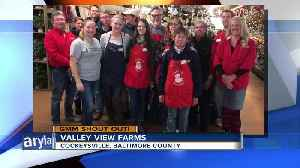 Good morning from Valley View Farms! [Video]
